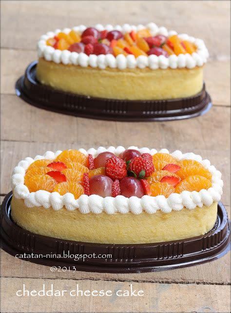 oval cheddar cheese cake catatan nina aneka resep