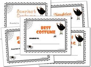 costume certificate template costume award certificates printables
