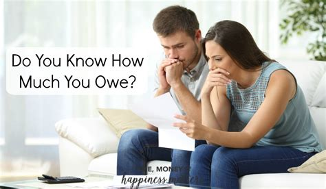 Do you know how much you owe happiness matters