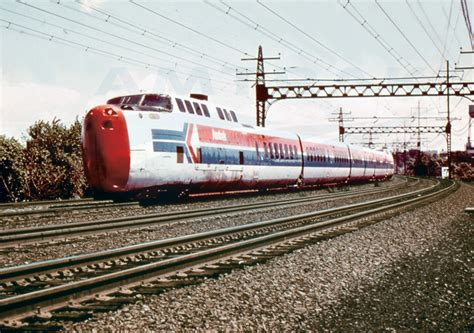 turbotrain in amtrak livery 1970s amtrak history of