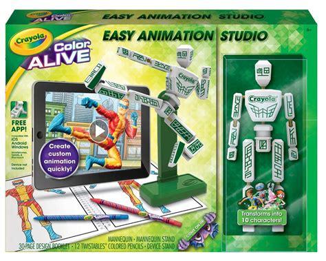 crayola color studio crayola s color alive easy animation studio review 2015