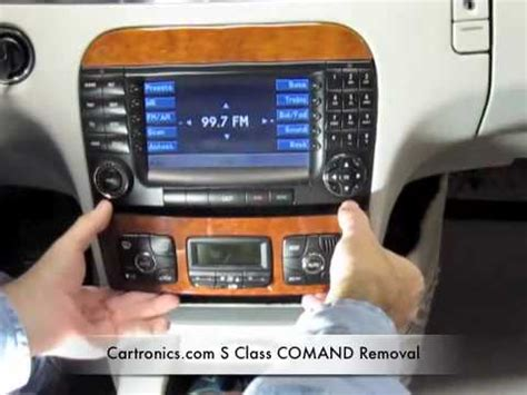 benzwerks c class radio removal benzwerks mercedes radio removal doovi