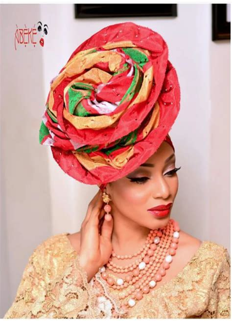 new styles guide to tying nigerian traditional head tie how to tie rose gele naija ng