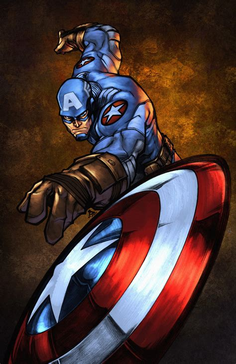 captain america wallpaper deviantart captain america by zaratus on deviantart