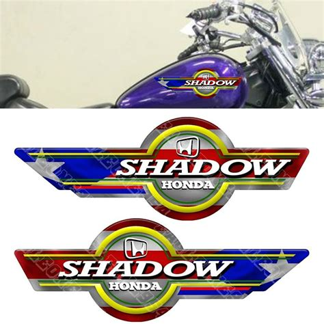 Honda Tank Sticker by 2 Puerto Rico Puerto Rican Flag Decals Stickers Shadow