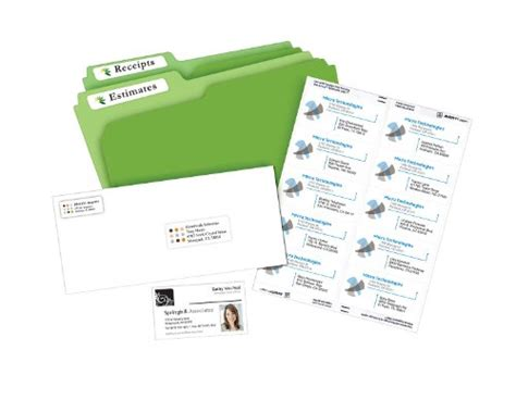 Avery File Folder Labels For Laser And Inkjet Printers 0 Avery File Label Template 8366