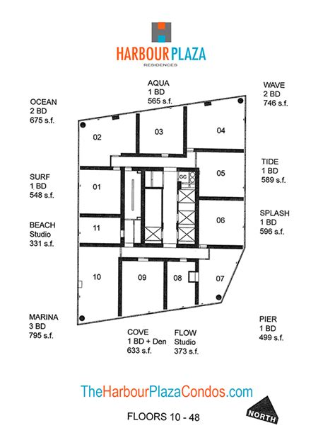 18 harbour street floor plans harbour plaza condos for sale rent floor plans