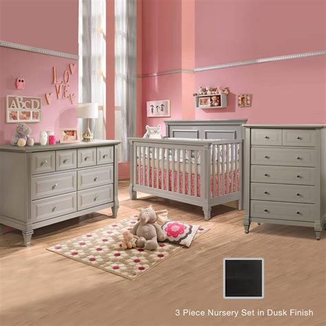 Convertible Crib And Dresser Set by Natart Belmont 3 Nursery Set 4 In 1 Convertible Crib