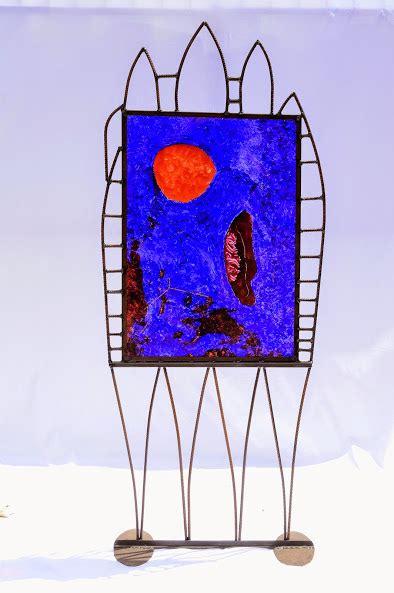 Le Bleu Du Silence Jean Vindras Plasticien Sculpteur