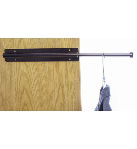 closet rod laundry room valet rod gustitosmios