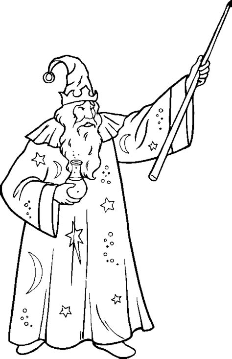 boy witch coloring page wizard printable coloring pages coloring pages people