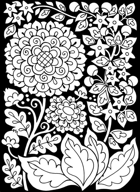 adults coloring book with black background 2 49 of the most beautiful grayscale flowers for a relaxed and joyful coloring time books 1000 id 233 es sur le th 232 me coloriages de fleurs sur