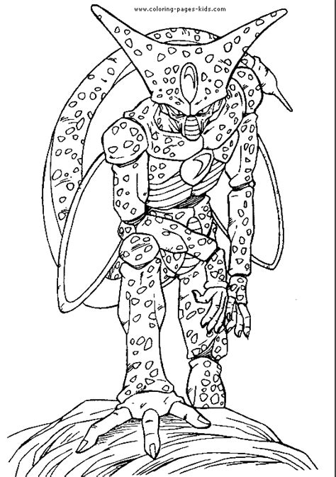 Dragon Ball Z color page   Coloring pages for kids
