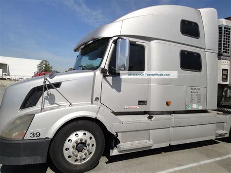 volvo 760 semi truck 2007 volvo 760