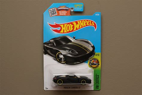 Hotwheels Porsche Gt Black wheels 2016 hw exotics porsche gt black