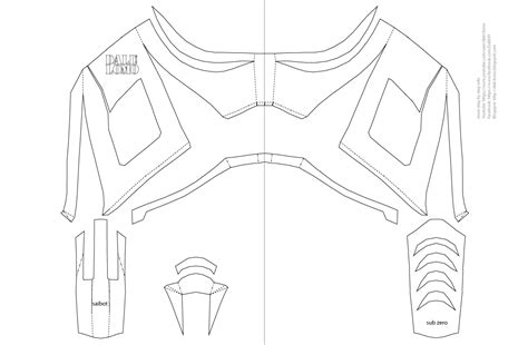 printable geometric mask template dali lomo mortal kombat saibot sub zero mask diy free