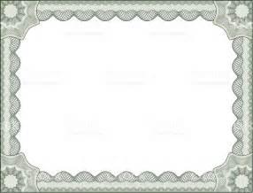 Certificate Border Letter Certificate Border Letter Size Stock Vector 165059018 Istock