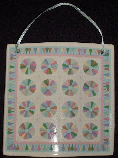 hill design porcelain quilt tiles 46 best hill design celebration of quilts ornaments images