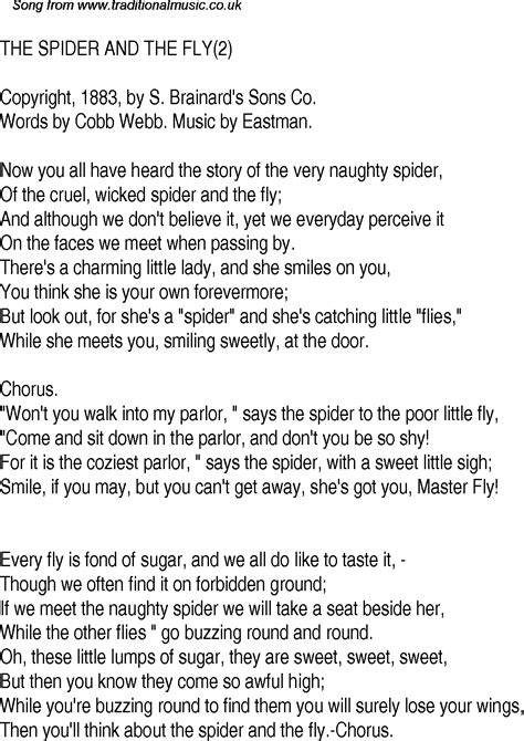 the spider and the fly a writer a murderer and a story of obsession books song lyrics 28