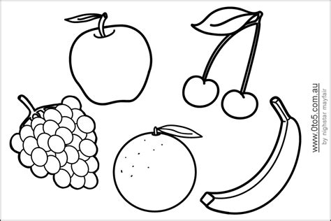 banana template printable 4 best images of free printable fruit and vegetable