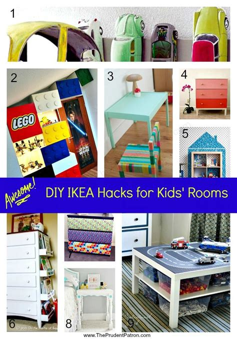 10 awesome diy ikea hacks for any kids room shelterness 202 best ikea hacking images on pinterest