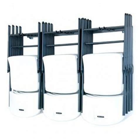 monkey bars storage large folding chair rack 05012 by