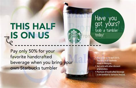 What Is A Starbucks Handcrafted Beverage - starbucks 50 handcrafted beverage 1 day promo