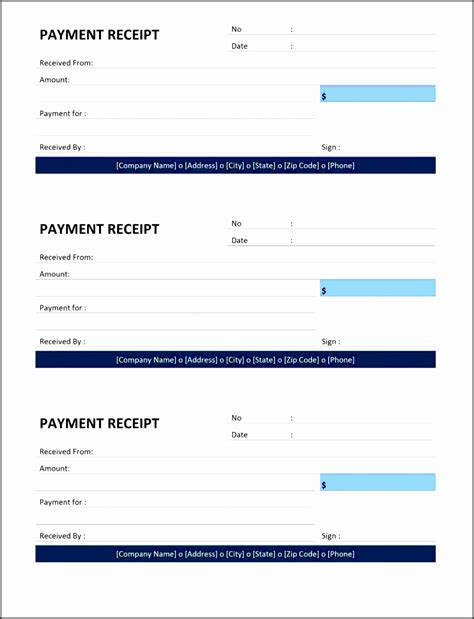 Restuarant Order Receipt Template by 10 Payment Receipt Template Sletemplatess