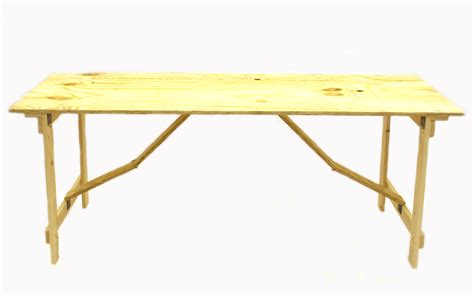 6 wood folding table plywood trestle table 6 by 2 be furniture sales