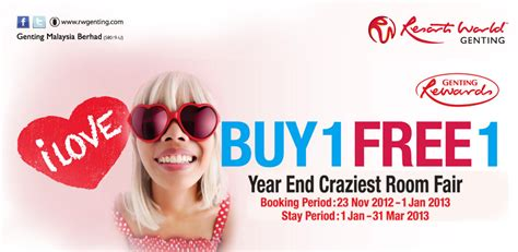 Genting Room Promotion by I Freebies Malaysia Promotions Gt Resort World