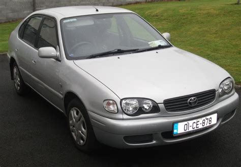 2001 Toyota Corolla Mpg 2001 Toyota Corolla Liftback For Sale In Ennis Clare From
