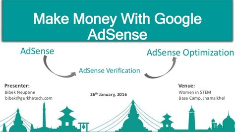 adsense views to money how to make money with google adsesne