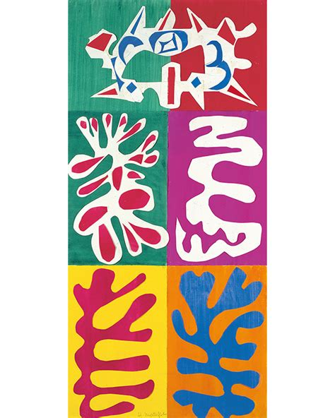 matisse cut outs poster set a look at the henri matisse the cut outs exhibit at the moma buro 24 7