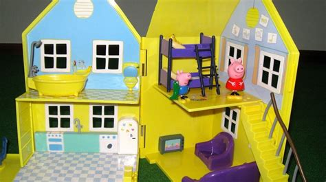 peppa pig deluxe house peppa pig house deluxe peppa pig playhouse bandai juguetes de peppa pig viyoutube