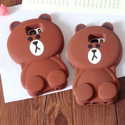 Samsung Galaxy J5 3d Teddy Brown Soft Silicone T1910 17 best images about samsung galaxy s7 edge cases on