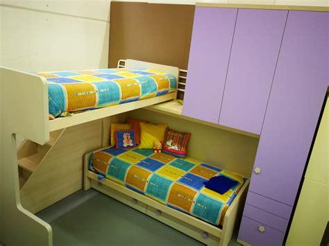 camerette per bambini con letto a cameretta doimo cityline cameretta con letto a soppalco