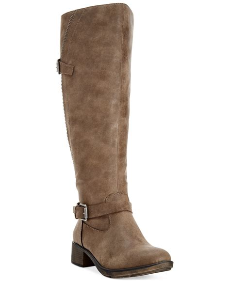 s boots lyst style co style co gayge wide calf boots
