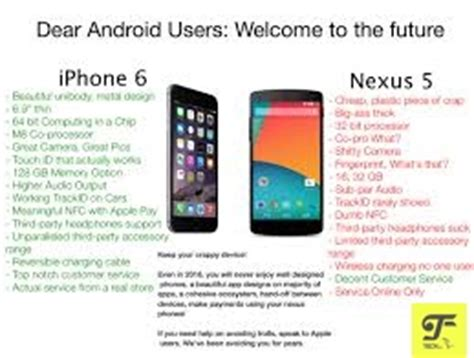 is android better than iphone android phone why it is better than iphone teckfly