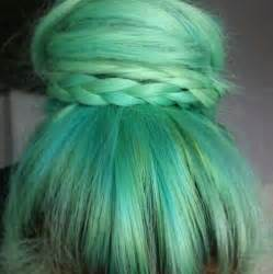 mint color hair teal sea green hair hair styles posts