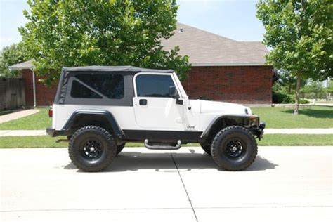 Jeep Lj For Sale Buy Used 2005 Jeep Lj Unlimited In Mckinney United