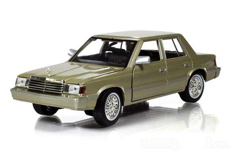 1982 dodge aries k car green
