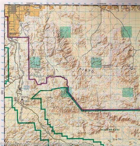 joshua tree hiking map trail map of joshua tree national park california