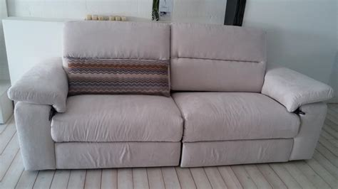 occasione divani occasione divano puccini in tessuto con sedute allungabili