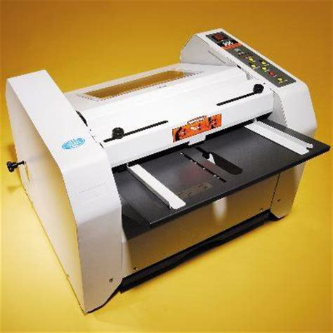 Paper Folding And Stapling Machine - paper finishing equipment folding creasing and