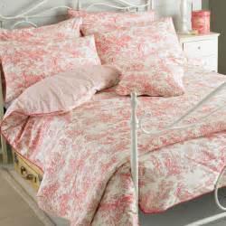 toile de jouy bed linen paoletti canterbury tales toile de jouy cotton duvet