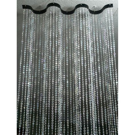 2 X 8 Foot Wavy Beaded Curtain Room Dividers Diamond