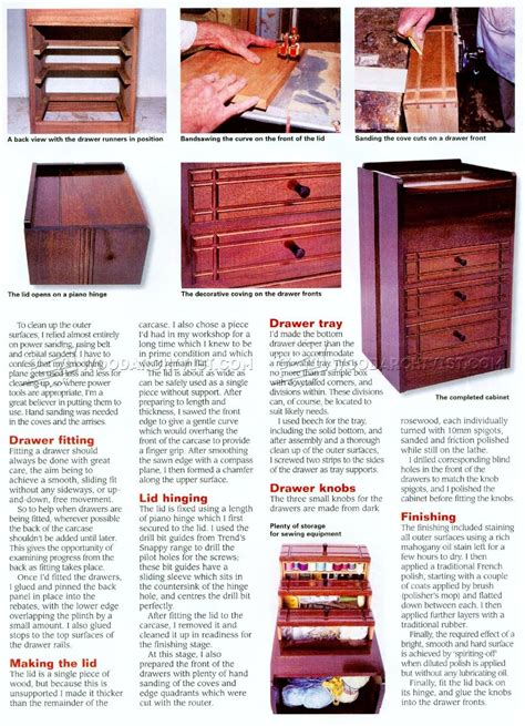 wooden sewing cabinet furniture sewing cabinet plans woodarchivist