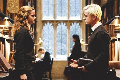 Hermione Granger Draco Malfoy by So Hermione And Malfoy Totally Had A Thing Basically