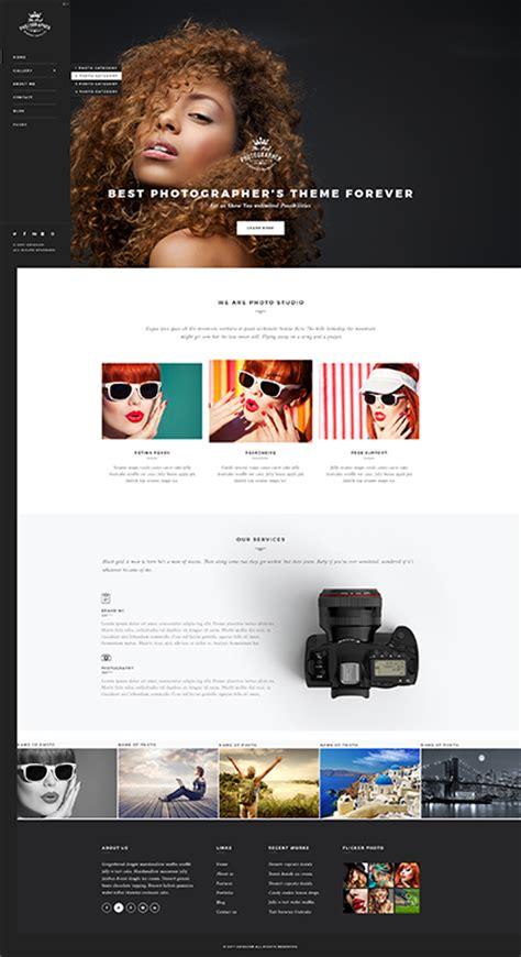Photographer Wp Wordpress Theme Best Website Templates Best Website Templates For Photographers