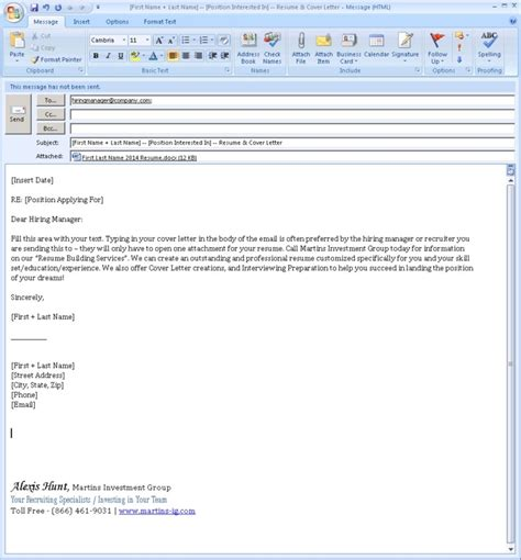 how to send cover letter in email email cover letter sle jvwithmenow